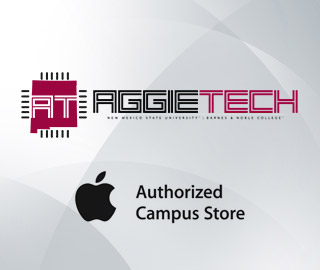 Click to visit Aggietech, the Apple Authorized Campus Store.