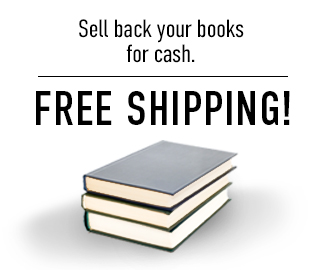 Picture of textbooks. Free shipping! Click to sell back your books for cash.